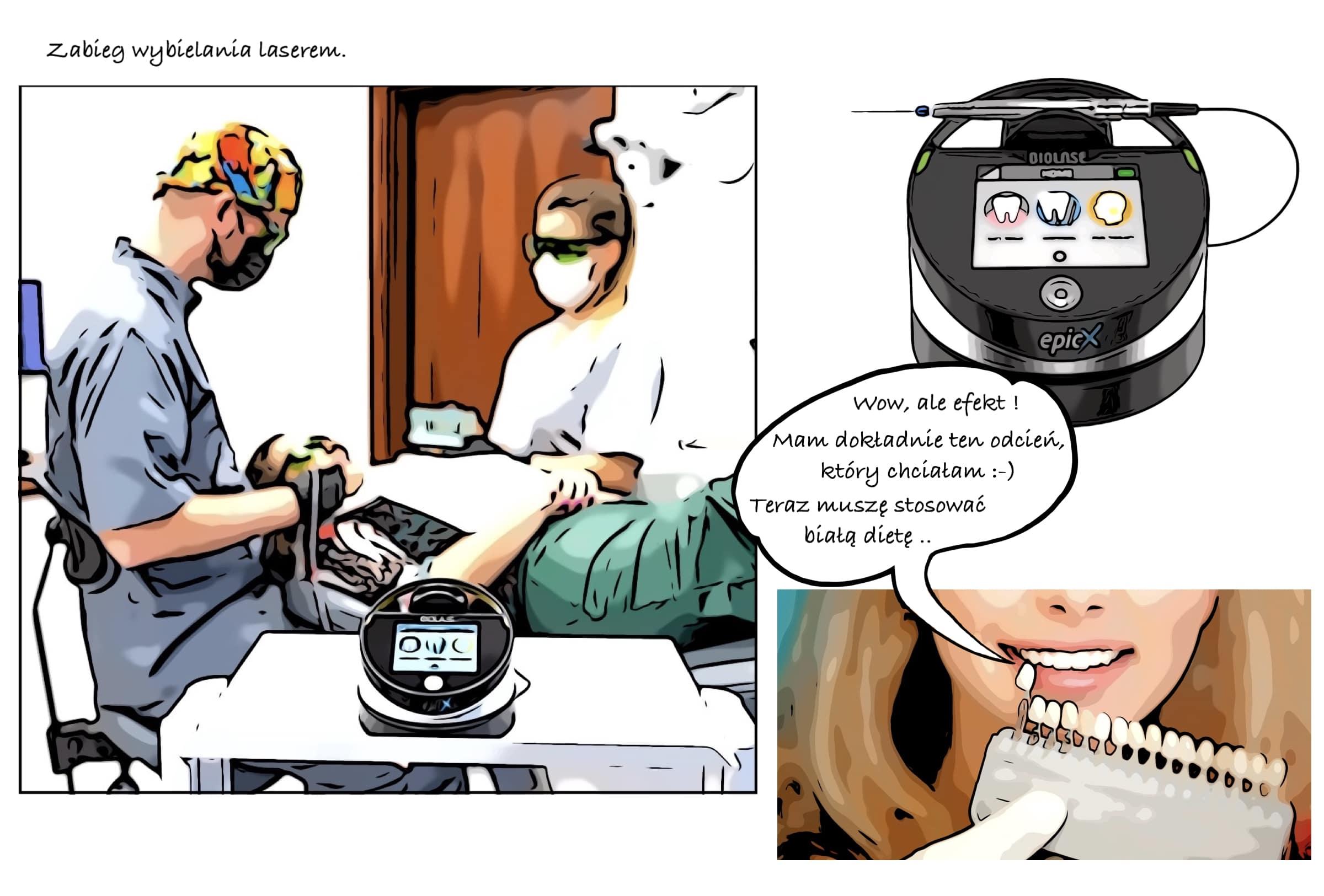 Wybielanie zębów w Mokotooth Prestige Dental: laserowe wybielanie zębów