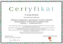 Kinga Maciejak Okluzja, szyny relaksacyjne
