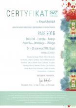 Kinga Maciejak Certyfikat PASE 2019