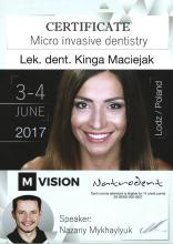 Kinga Maciejak Micro Invasive Dentistry