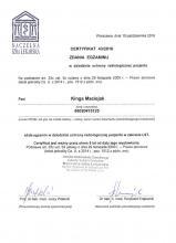 Kinga Maciejak Certyfikat Ochrona radiologiczna pacjenta