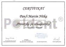 Marcin Nitka Protetyka po szwajcarsku